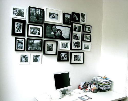 Keuken Inrichten Spel : Een muur vol foto's – Lifestyle & Wonen