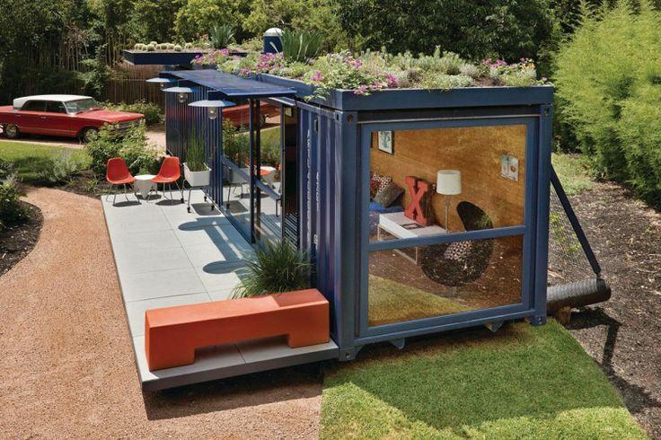 Wonen in een zeecontainer lifestyle wonen - Huis in containers ...