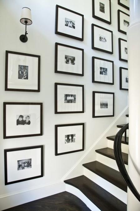 fotolijsten trappenhuis