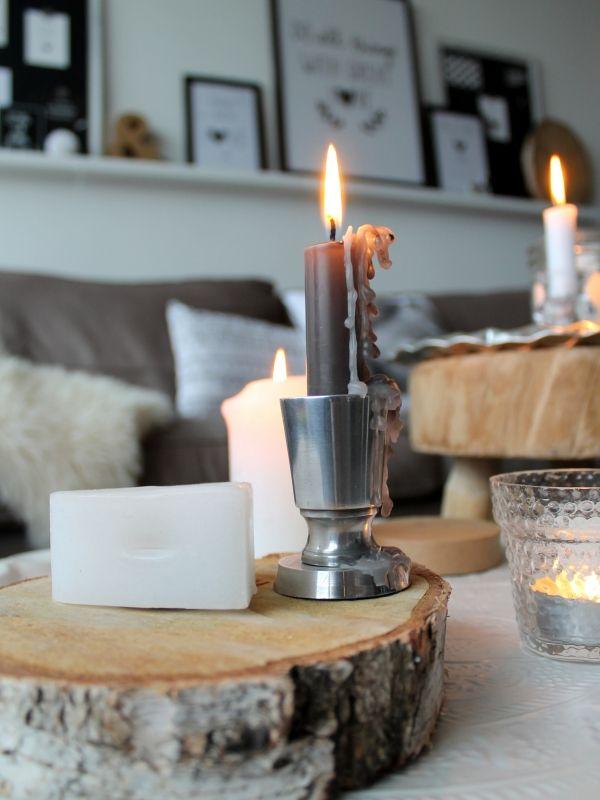 Natuurlijk een boomstam in je interieur lifestyle wonen for Boomstam decoratie