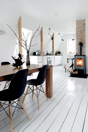 Zwart-wit interieur: Trend in 2015 - Lifestyle & Wonen