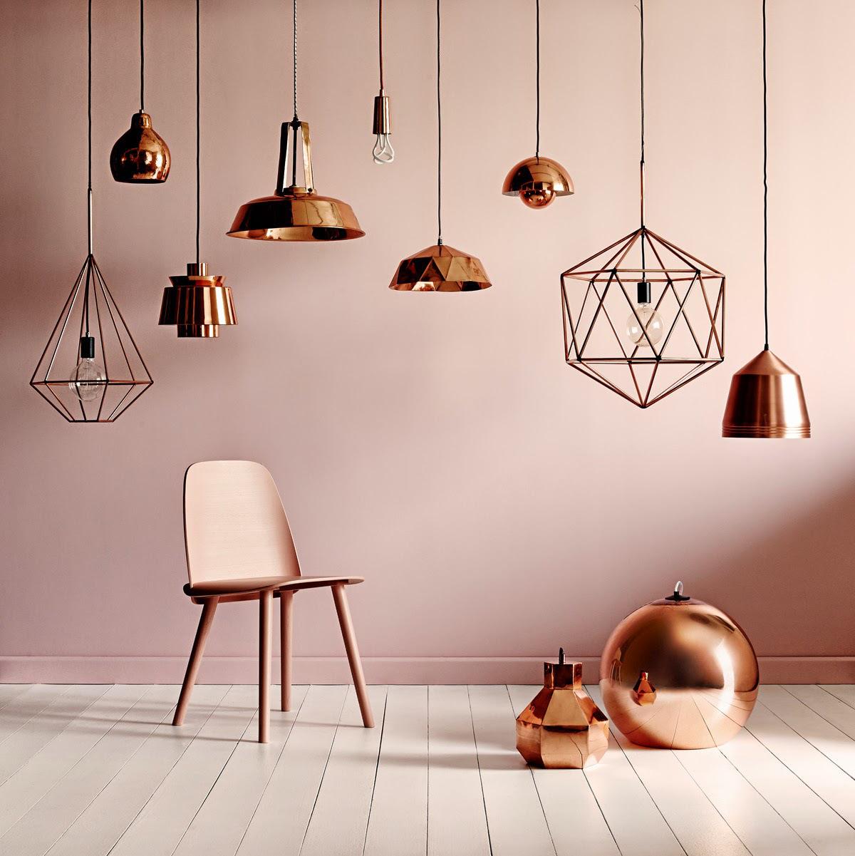 Trend: koper in je interieur   lifestyle & wonen