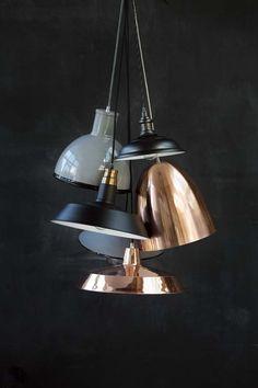 koperen lamp