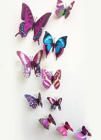 3d-vlinders-paars