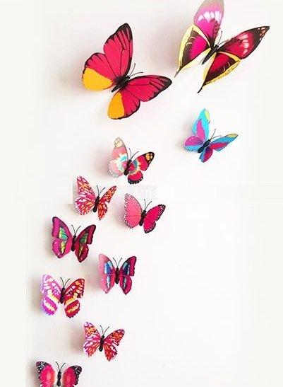 3d-vlinders-roze