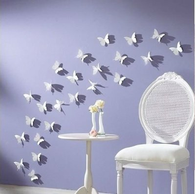 3d-vlinders-wit