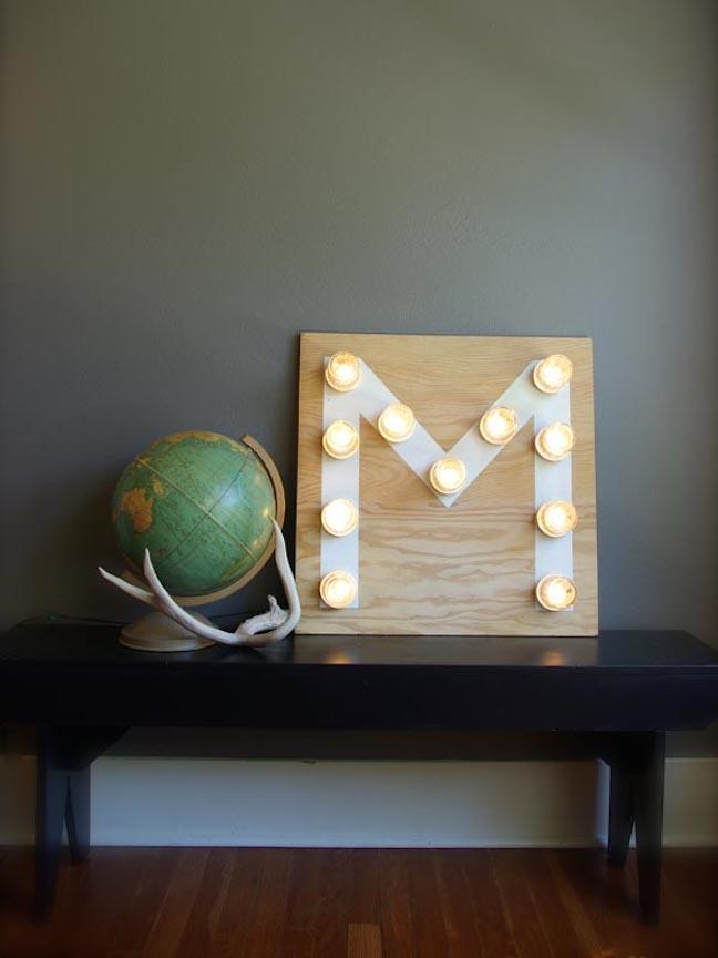 monogram licht