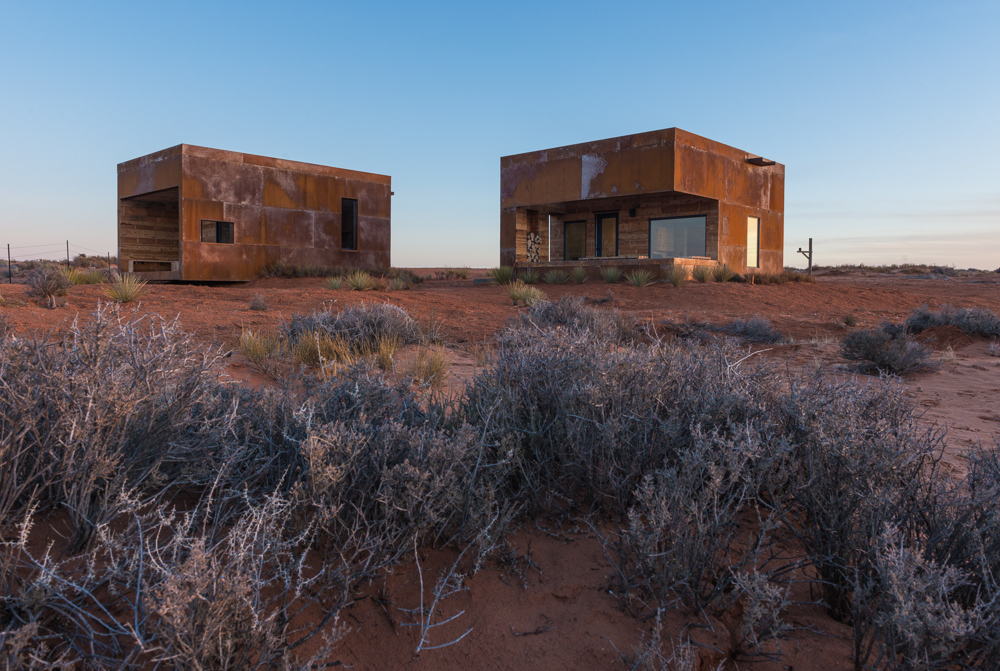 woestijn woningen