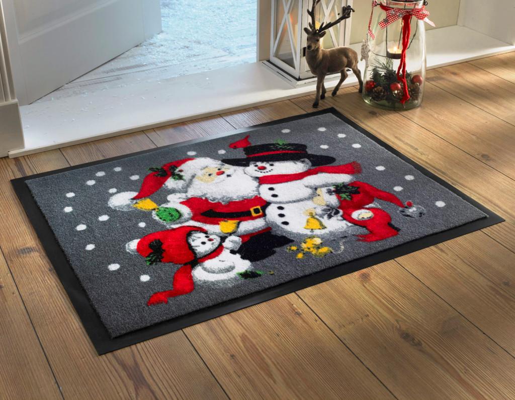 deurmat kerst