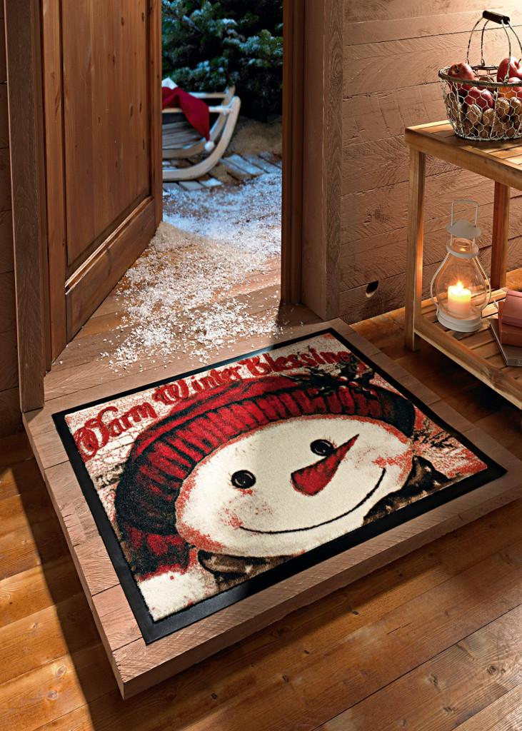 kerst deurmat