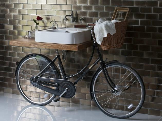 fiets badkamer