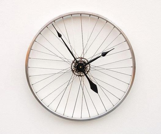 fiets klok