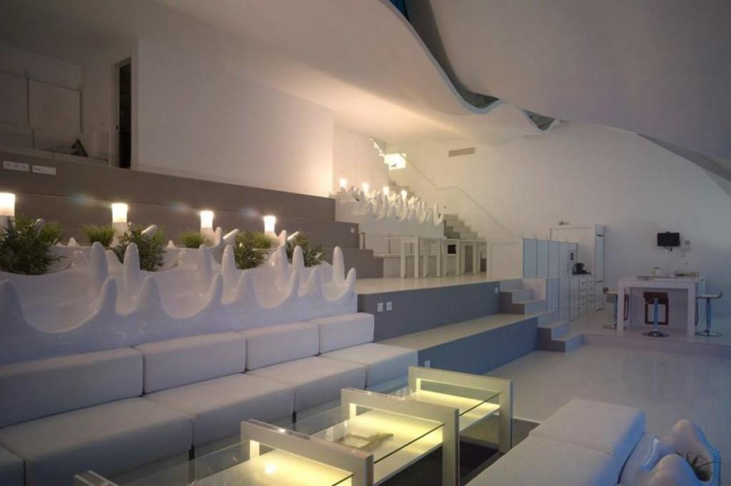 futuristisch interieur