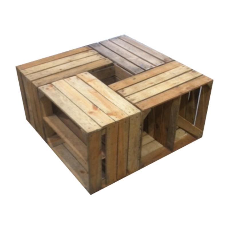 tafel van kistjes