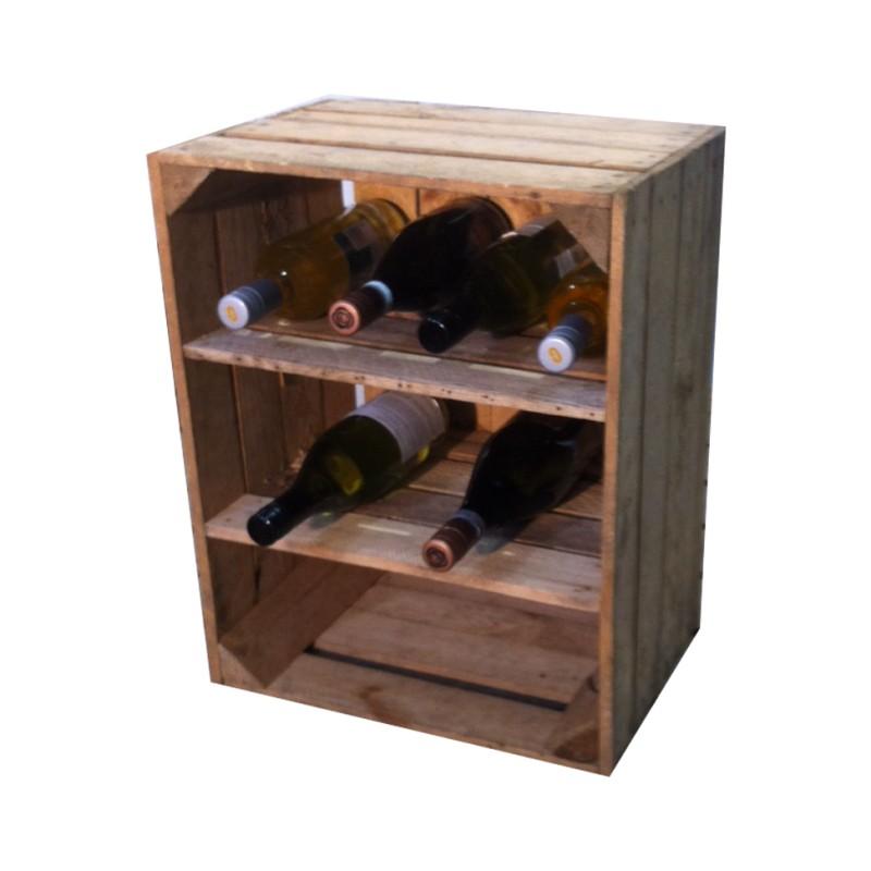 wijnrek kisten