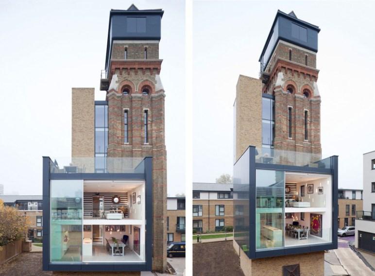 wonen in een watertoren