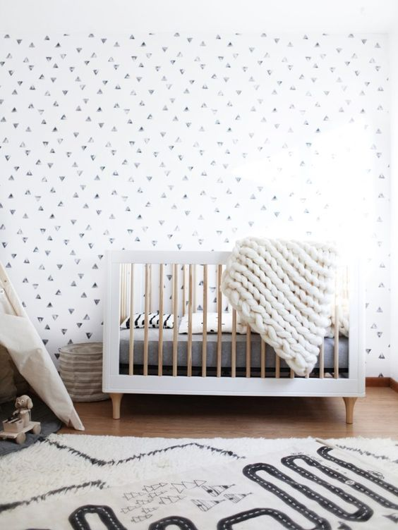 Gewoon doen een zwart witte babykamer lifestyle wonen - Zwart meisjes kamer en witte ...